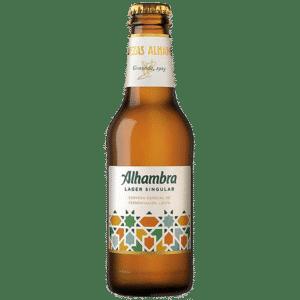 Alhambra Lager Singular, botellin