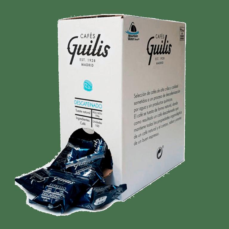 Guilis <br>Descafeinado Espresso · Cápsulas