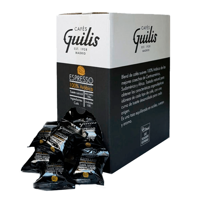Guilis <br>Natural Arábica · Cápsulas