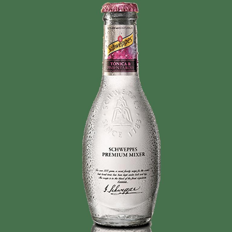 Schweppes Tónica<br> Pimienta Rosa Premium