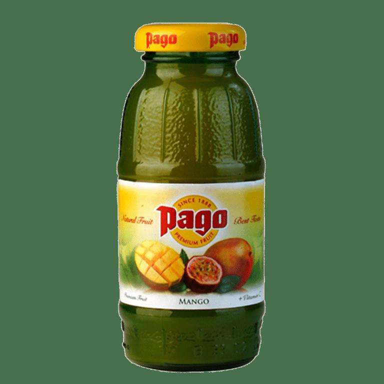 Pago<br> Mango · Maracuyá