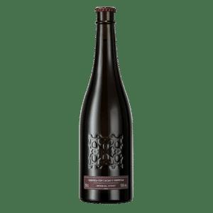 Cerveza Alhambra Negra con Cacao y Chiplote