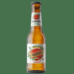 Sidra La Prohibida, botella